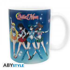 Sailor Moon Group 320ml Tasse