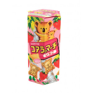 Lotte Koala's March Strawberry Cream Biscuits 48gr