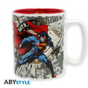 Superman & Logo 460ml Tasse