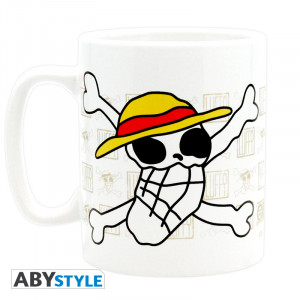 One Piece Skull 460ml Tasse