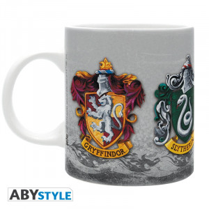 Harry Potter Die 4 Häuser 320ml Tasse