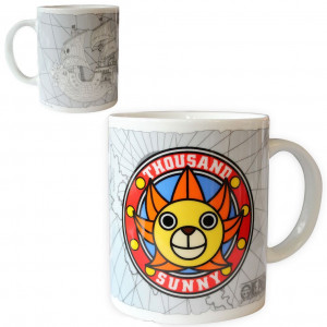 One Piece Thousand Sunny 320ml Tasse