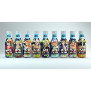 12x Ultra Ice Tea - One Piece - Bio-Eistee mit roten Früchten 500ml - Misch-Case