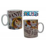 One Piece Luffy Wanted 460 ml Tasse