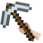 Minecraft Schaumstoff-Replik 1/1 Iron Pickaxe 45 cm