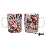 One Piece Zorro Wanted 460 ml Tasse